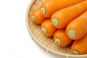 Carotene is Vitamin A in Carrots