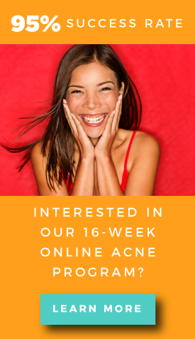 95% Success Rate - Online Acne Program Sidebar CTA